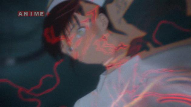 """Cuando Shiki se da cuenta de su habilidad """"Los Ojos Místicos de la Percepción"""". Sin censura :o"""